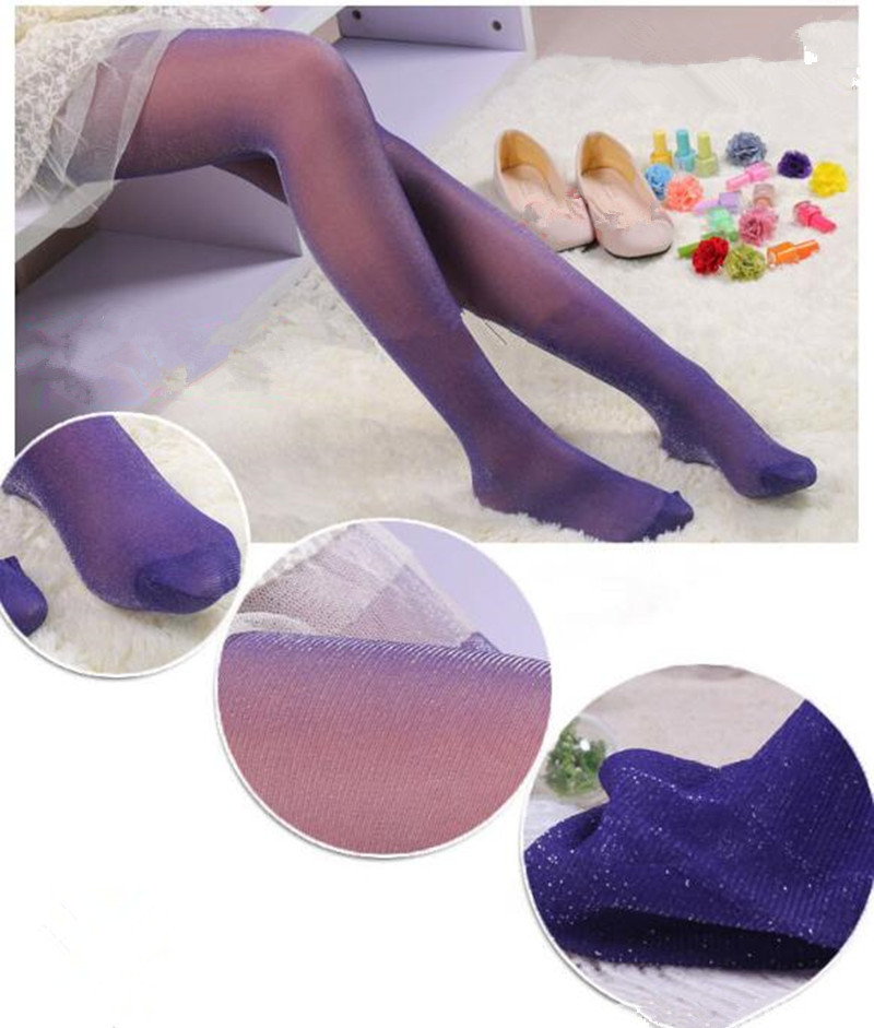Women Lady Tights Sock Sexy Shining Girl Female  Elastic Stretch Pantyhose  High Stockings Tights Hosiery