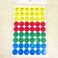 10 Pcs Lovely Cute And Colorful Kids Funny Smile Faces Parents Teachers Praise Children Well Done New Year Games Stickers Sales