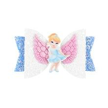 Princess Wing Glitter Handmade Clip