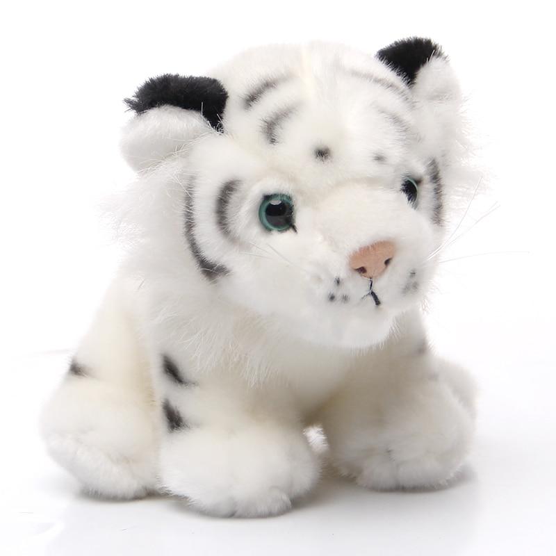 Nooer Emulational Baby Tiger Plush Toy Soft Siberian Bengal Tiger Toys Stuffed Wild Animals Kids Birthday Gift
