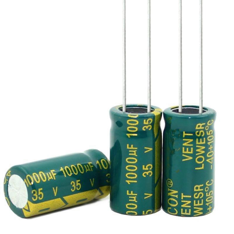 New Original High-frequency Crystal  1000uf 35v 35v 1000uf  New Original Size:10*20MM