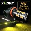 2x H8 H11 Car Auto LED Fog Lights Bulb Daytime Running Light Lamp For VW Touareg