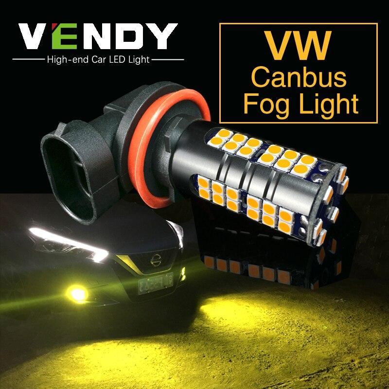 2x H8 H11 Car Auto LED Fog Lights Bulb Daytime Running Light font b Lamp b