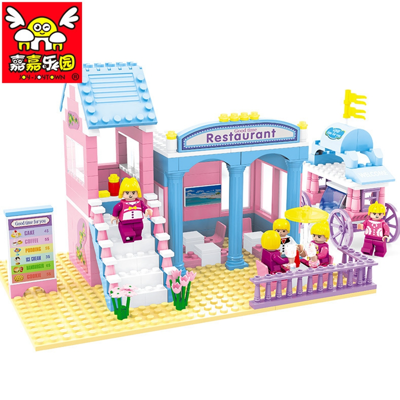 Series Restaurant Compatible Legoe Friends for Girl Toys With Lepine Building Bricks Educational Toys for Children Xmas Gift