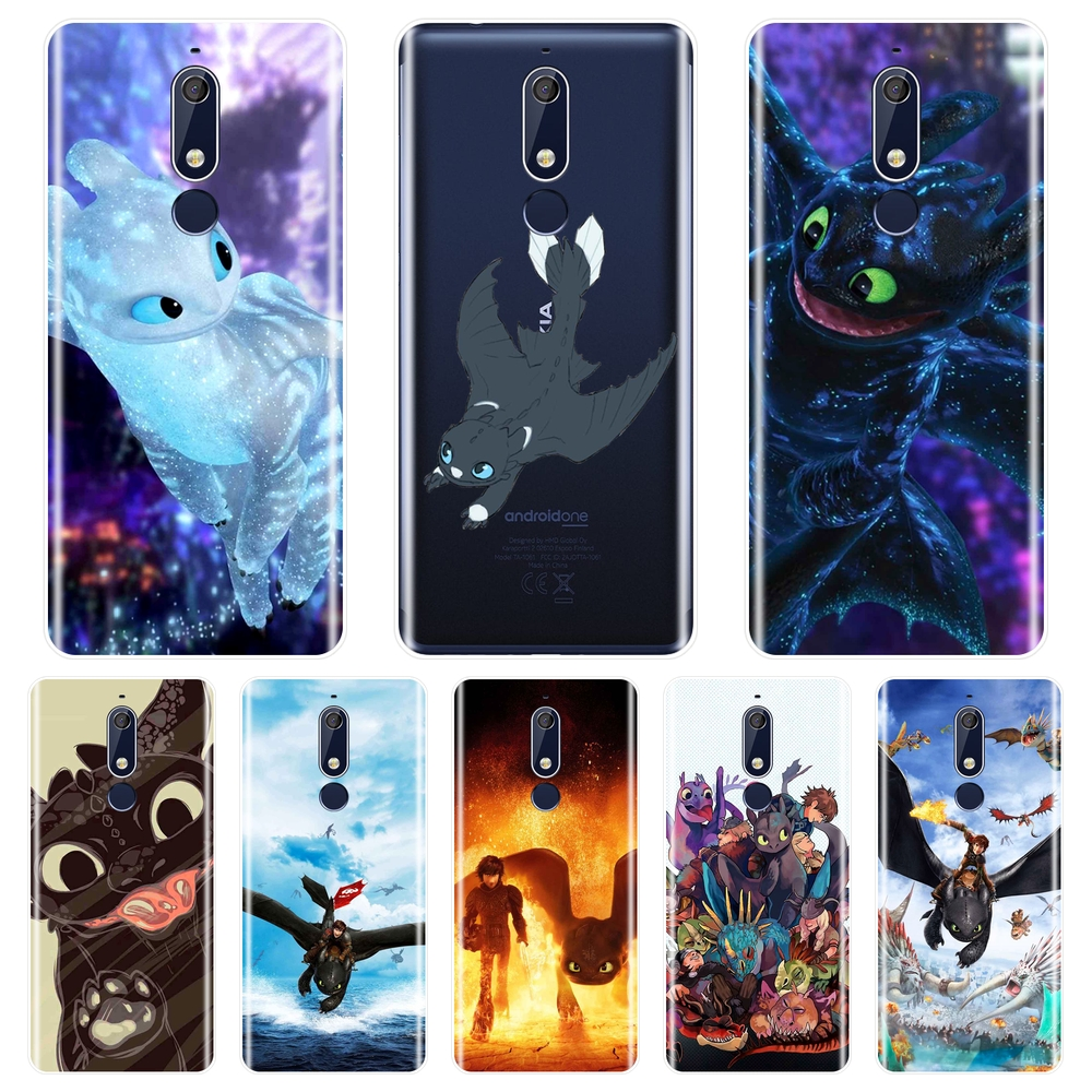 Phone Case For <font><b>Nokia</b></font> 7.1 <font><b>6.1</b></font> 5.1 3.1 2.1 <font><b>Plus</b></font> <font><b>Silicone</b></font> Soft How To Train Your Dragon <font><b>Back</b></font> <font><b>Cover</b></font> For <font><b>Nokia</b></font> 7.1 <font><b>6.1</b></font> 5.1 3.1 2.1 image