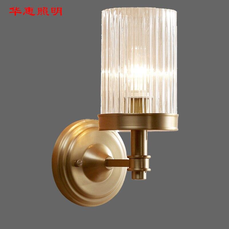 Retro RH K9 Crystal Shades G9 Wandlamp Amerikaanse Nachtkastje Blaker Verlichting Lustre Woonkamer Wandlamp - 3
