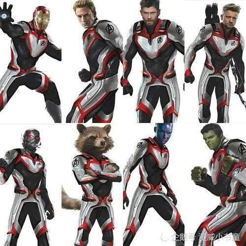 Avengers 4 Untitled Avengers Movie Team Zentai Tight Bodysuit 3D Print Lycra Avengers Endgame film Quantum