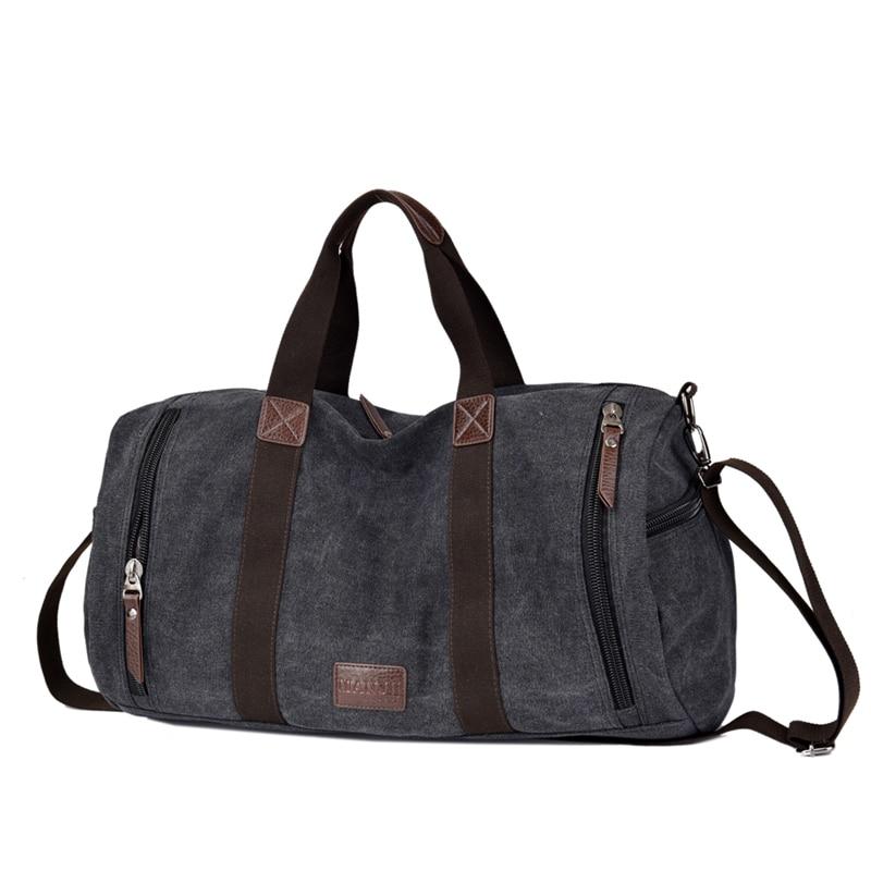 Canvas Men Shoulder Travel Bags Large Capacity Big Travel Handbag High Quality Duffle Bags T578