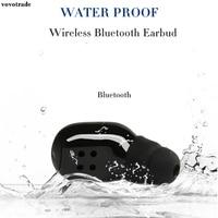 Toopoot HiFi auricular Bluetooth impermeable IP68 grado impermeable Auriculares auriculares para MP3 para iPhone envío de la gota