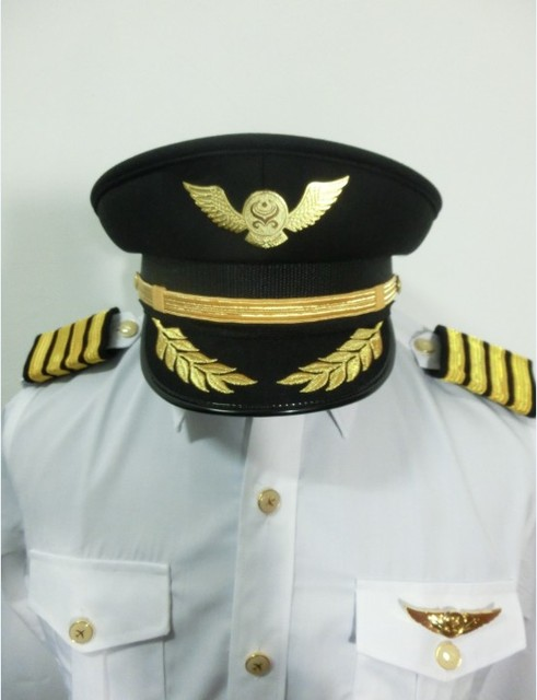 636a705da10 Air China China Southern Airlines pilot captain hat big top cap aviation  apparel wholesale custom