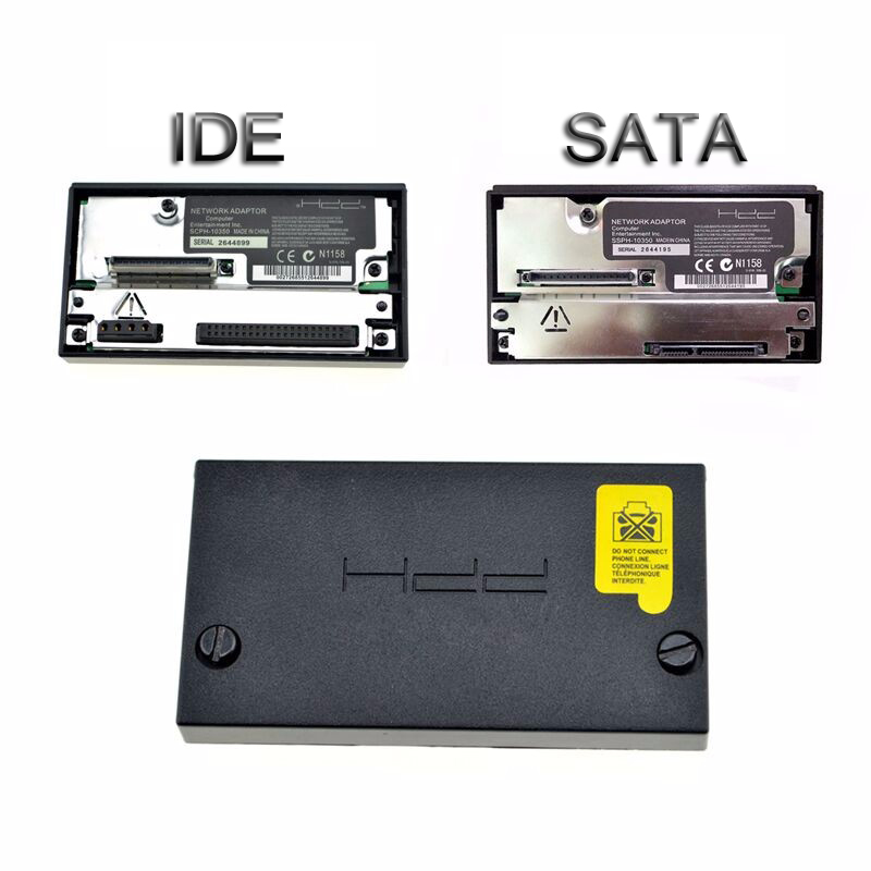 Adaptador de red de alta calidad para PS2 Fat Game Console IDE / Sata HDD Conector Socket Conector para PS2 SCPH-10350