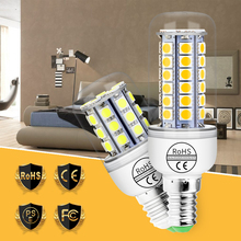 E27 LED Lamp Corn Bulb 220V LED Light Bulb SMD 5050 Candle Light E14 Led Bulb High Brightness 240V Chandelier Ampoule 3W 5W 7W