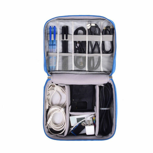Image 4 - AU Digital Storage Bag Travel Gadget Organizer Case For Hard Disk/USB/Data Cable-in Storage Bags from Home & Garden