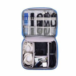 Image 4 - Bolsa de almacenamiento Digital AU, estuche organizador de dispositivos de viaje para disco duro/USB/Cable de datos