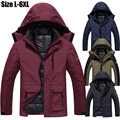 Size 5XL 6XL Winter Jacket Men/Women Hooded Waterproof Thickening Warm Parka Coat Snow Jacket Brand Casual Windbreaker Men CF005