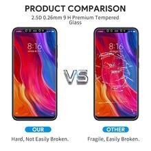 Tempered Glass For Xiaomi Redmi Note 7 5 8 9 Pro max 8T mi 9T 9 lite A3 Screen Protector glass on Redmi note 9s 7 8 9 Pro glass