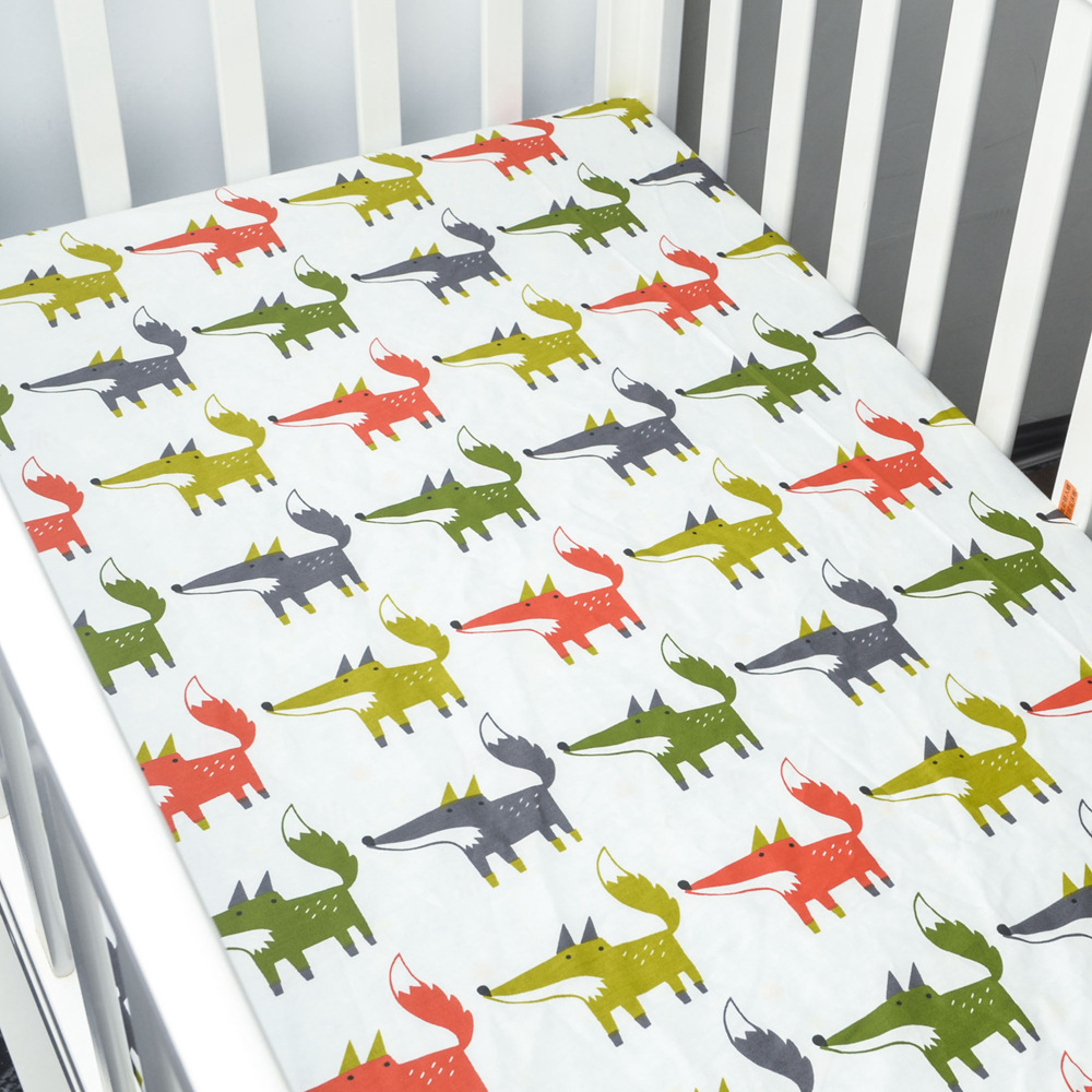 Baby bed sheet pattern - Happyflute 70 130cm Baby Blanket Bed Crib Sheet Mattres Cover Animal Home Textile Bed Sheets