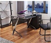 Компьютерный стол Лаконичное и современное закаленное стекло