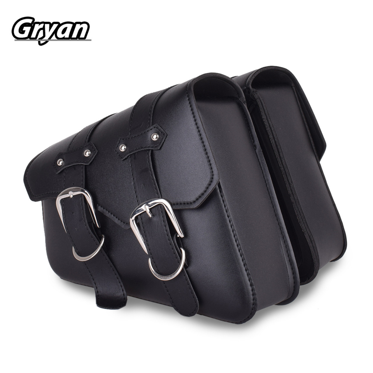 29*11*25cm PU Leather Motorcycle bag For Sportster XL 883 1200 Case for Motorcycle Saddle Bags Motorbike Side Tool Bag Luggage