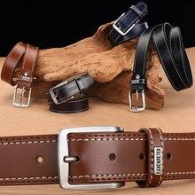 Luxury Pin Buckle Leather Belt