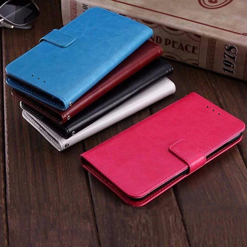 Luxury Flip PU Leather Wallet Phone Case Cover sfor <font><b>Samsung</b></font> A50 A30 <font><b>A10</b></font> A70 M10 M20 M30 A6S A20 S10 5G Stand Cards Holder <font><b>Coque</b></font> image