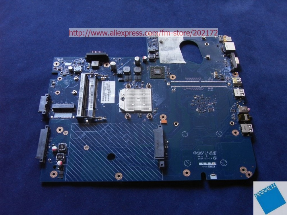 MBBDU02001 Motherboard For Packard Bell EASYNOTE LJ71 J73 Gateway NV73 LA 5051P 461672B0L21tested good