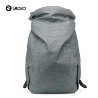 YESO Fashion Style Casual Korean Outdoor Nylon Laptop Compartment Backpack For Men School Teenager Stylish Backpacks