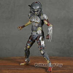 Image 1 - NECA Predator 2018 Film Latitante Predator PVC Action Figure Da Collezione Model Toy
