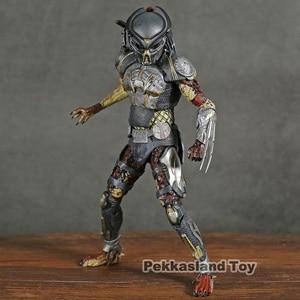 Image 1 - NECA The Predator 2018 Movie Fugitive Predator PVC Action Figure Collectible Model Toy