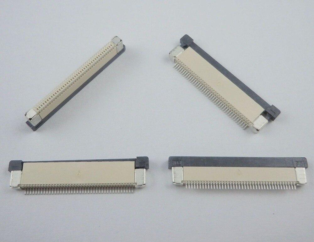 50 шт./лот 0.5 мм-40 P ящик режим высокое Контактное Тип 40pin 0.5 мм Шаг FFC Гибкие печатные платы разъем для ЖК-дисплей экрана интерфейс mp3/DVD/телефон