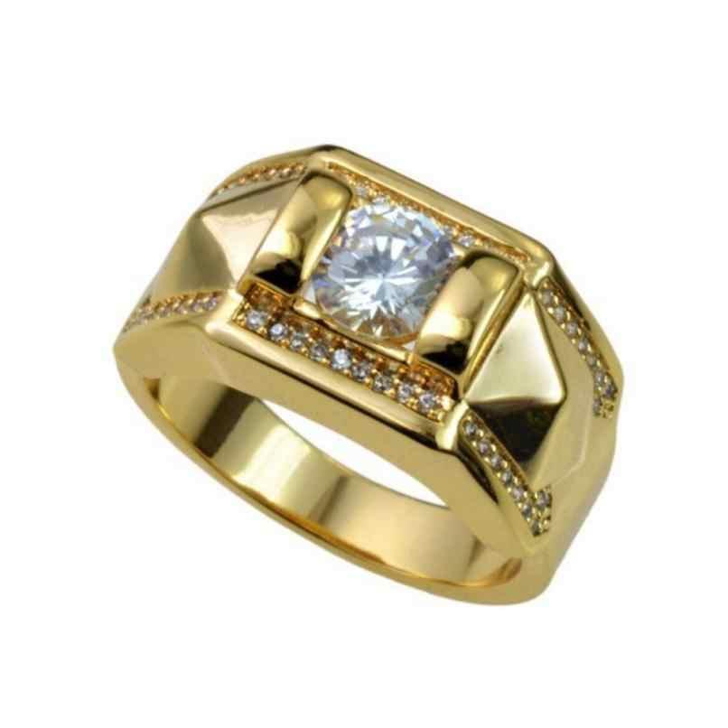 ชายหญิงแหวน Betrothal แหวนหมั้นเครื่องประดับประเภทเรขาคณิตโรแมนติกของขวัญวาเลนไทน์เครื่องประดับเครื่องประดับ Anillos