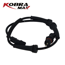 KobraMax ABS Wheel Speed Sensor 8200084125 Front left and right for Renault Laguna Espace ABS Sensor Renault front left right rear left right abs wheel speed sensor kit for chery indis x1 s18d beat a1 kimo face arauca s12 dr1 dr2