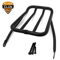 Motorcycle Sissy Bar Backrest Luggage Solo Shelf Frame For Harley Luggage Rack Sportster XL 1200 883 XLH883 XLH1200