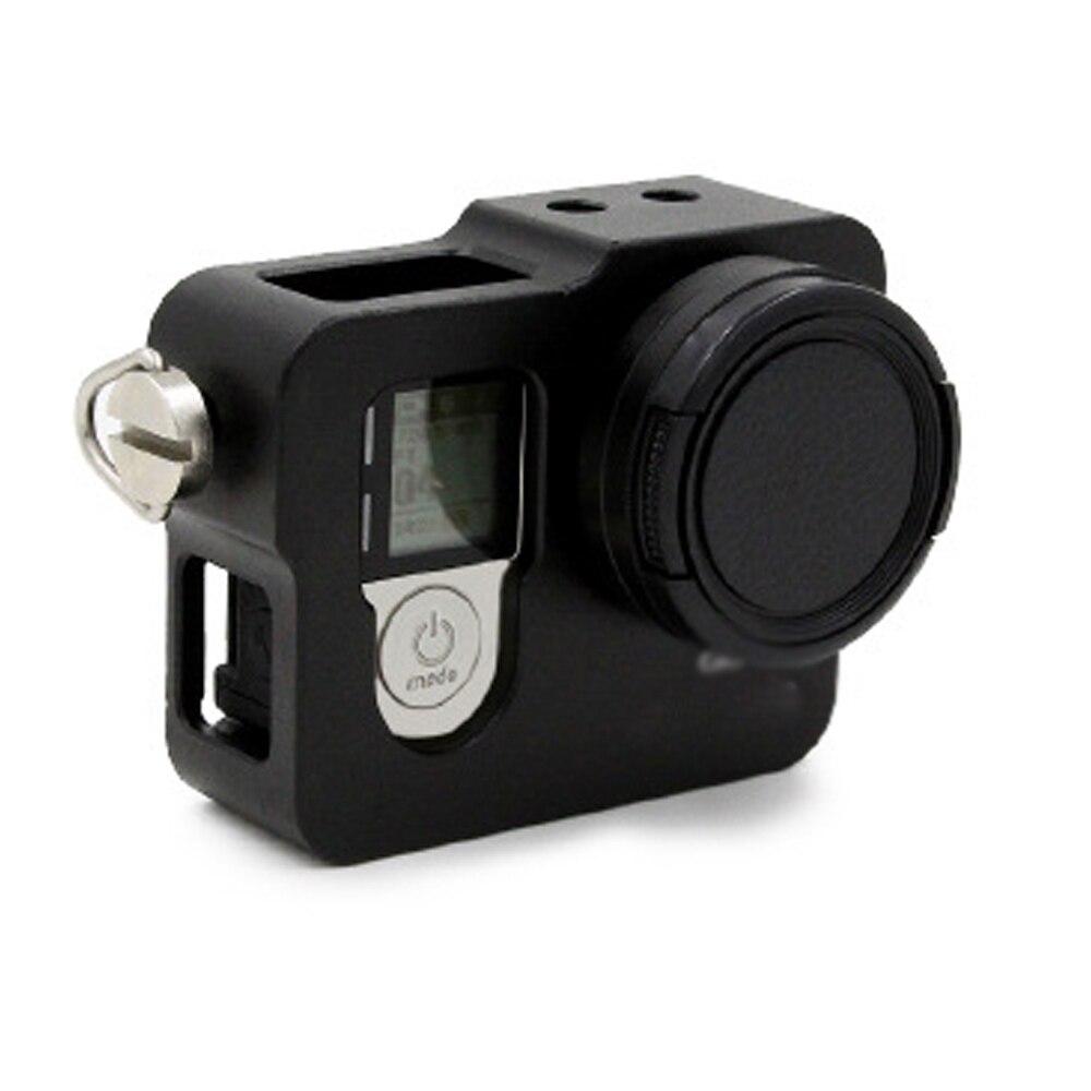 GoPro için Alüminyum Kabuk Çerçeve Koruyucu Konut Case UV Filtre - Kamera ve Fotoğraf - Fotoğraf 2