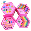 LeadingStar 46 Pcs Children S Painting Tools Water Color Pen Crayon Watercolors Powder Colored Pencil Set