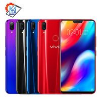 Original Vivo Z1 Mobile Phone 6.26 inch 6GB RAM 64GB ROM Snapdragon 660 Octa Core Android 8.1 Dual Cameras Face Wake Smartphone