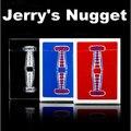 Jerry Nugget Naipes Poker (Negro, Rojo/Azul Nuevo Disponible)-Trucos de Magia, Truco, ilusión, Close Up, Prop, Mentalismo, Comedia