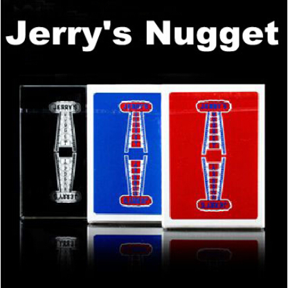 Jerry's Nugget Playing Cards Poker(Red/Blue Back Available) Magic Tricks Close Up Illusions Gimmick Prop Mentalism Comedy