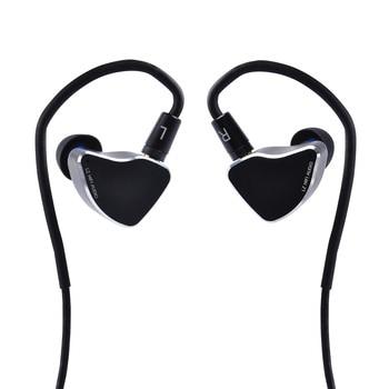 AK Newest LZ A6mini In Ear Earphones 1Piezoelectric Ceramic +1DD Driver Hybrid In Ear Headset With Nozzles MMCX/2Pin Headplug