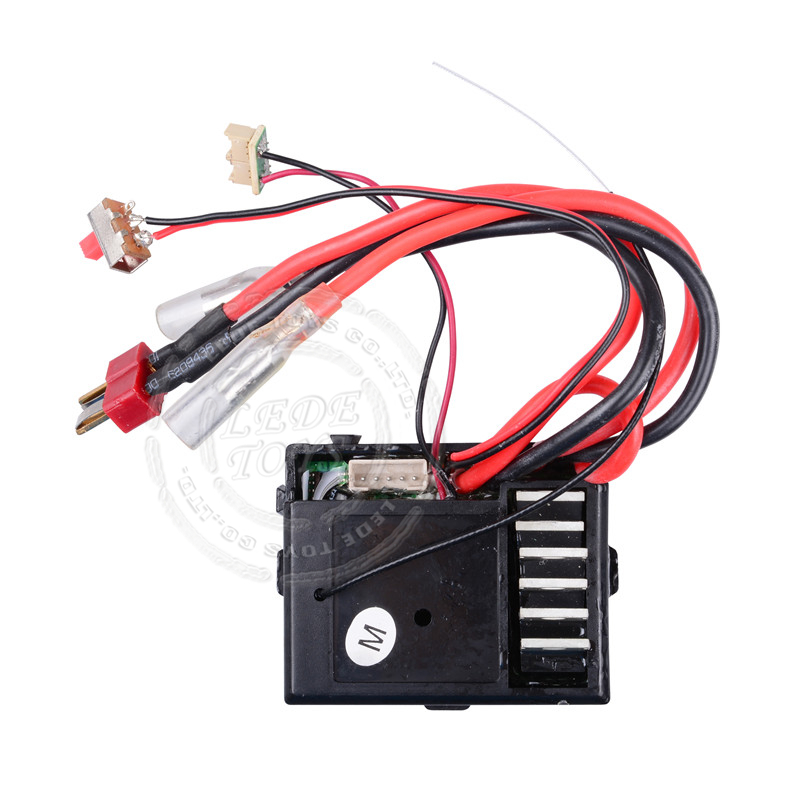 Wltoys 12428 12423 1/12 RC Car Spare Parts 12428-0056 3in1 Circuit Board Receiver اللوحة الأم
