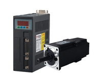 1KW NEMA32 AC Servo Motor+ Drive Kit 4Nm 220V 2500r/min 80mm 80ST M04025 1000W for CNC Machine 3M Encoder Cable 2 Years Warranty