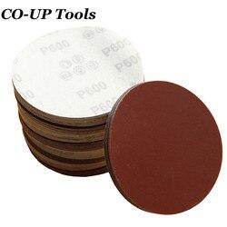 1 шт. 5 125 мм высокой плотности изображения шлифование наждачной бумагой диск для шлифовальная машина с зернистость 60 80 120 180 240 320 400 600 800 1000 1200