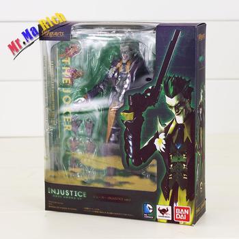 15 Cm Ingiustizia League Figure Toy The Joker Con Maschera Spada Armi Suicide Squad Avversario Di Batman Shfiguarts Modello Bambola