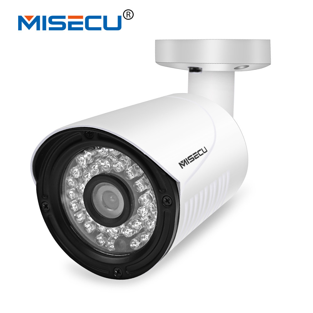 MISECU 4 0MP H 265 H 264 48V POE Hi3516D OV4689 IP Camera Metal wide dynamic