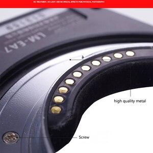Image 4 - محول عدسات تركيز تلقائي جديد من temap LM EA7 6.0 II لعدسة Leica M LM إلى سوني NEX A7RII A6300 A9 A7SII محول عدسات الكاميرات