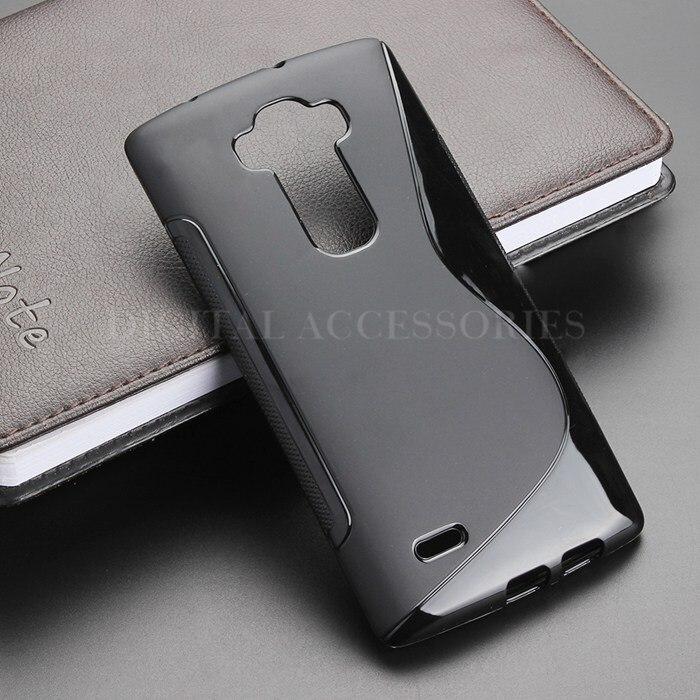 4 Color S Line Gel TPU Slim Soft Anti Skiding Case Back Cover For LG G Flex 2 H959 Mobile Phone Rubber silicone Bag