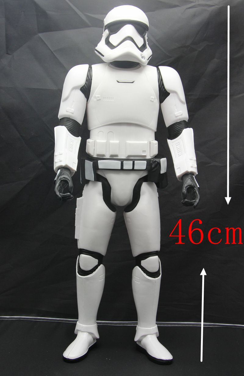 ФОТО New Star Wars 7 The Force Awakens Empire pass type storm assault 18 inch white pawn action toy figures