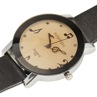 HOT Sale Women Dress Watches Luxury Brand Music Note Dial Design Casual Sport Quartz Watch Analog