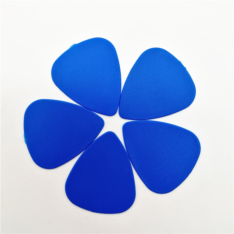 100 pieces High Quality Blue Guitar Picks Acoustic Electric Mediator Guitarra Violao Accessories Thickness 0.46 0.71 0.96 (mm) image