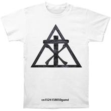4bed5acfeb Funny Men t shirt Women novelty tshirt Christian Death Pyramid Logo T-Shirt (China